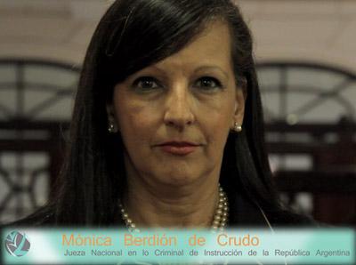 La jueza investigada (Foto: www.inconciente.com).